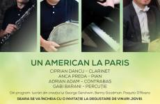 """Un american la Paris"". Un poem pentru orchestră de jazz, vineri, la Biblioteca ASTRA"