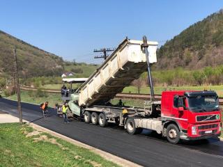 18 drumuri se modernizează anul acesta din bugetul județului