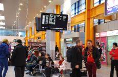 Terminalul plecări externe al Aeroportului Internațional Cluj