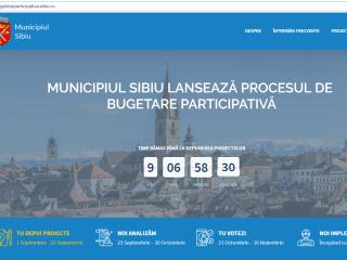 Primăria Sibiu pregătește o nouă ediție a programului de bugetare participativă