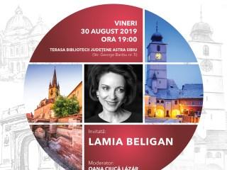 Întâlnire cu Lamia Beligan și concert din muzica lui Bach la Round Table Sibiu