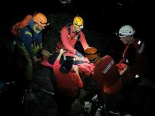 Turist transportat la Spitalul Județean Sibiu, după ce s-a accidentat în drum spre Bâlea Lac