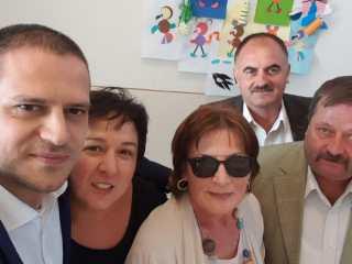 Bogdan Trif, ministrul Turismului și președinte al PSD Sibiu, la deschiderea anului școlar în comuna Poplaca