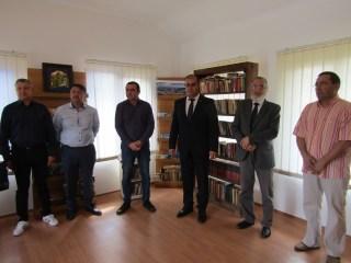Comuna Bazna are bibliotecă publică
