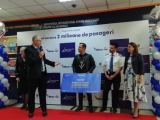 Cine este pasagerul 2 milioane de pe Aeroportul Internaţional Cluj