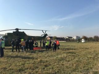 """Exercițiu de antrenament pe Aeroportul Internațional """"Avram Iancu"""" Cluj"""