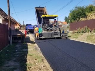 Cel mai avansat proiect de infrastructură rutieră al Consiliului Județean Sibiu, realizat cu fonduri europene, se va finaliza în 2021