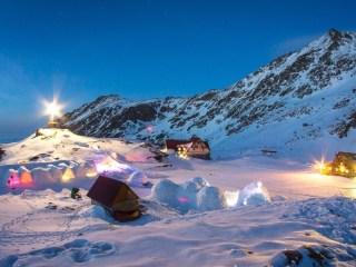 Satul de gheață