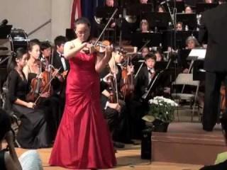 Violonista Kristie Su concertează pentru prima dată la Sibiu