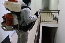 Dezinfecția scărilor de bloc continuă și mâine