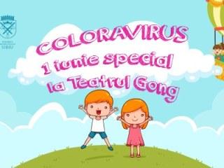 Coloravirus la Teatrul Gong, de 1 iunie: cadouri muzicale, ateliere de creație și poțiuni