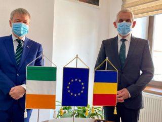 Ambasadorul Irlandei în România, impresionat de Sibiu