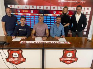 """Viva España! Ruben Albes, prezentat oficial la FC Hermannstadt: """"Cel mai important lucru în fotbal sunt fotbaliștii!"""""""