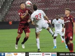 Înfrângere în amicalul cu CFR Cluj