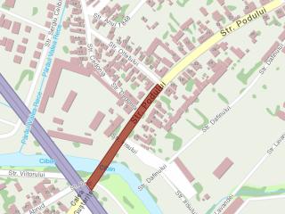 Restricții în trafic pentru lucrări importante de infrastructură pe Calea Cisnădiei și str. Podului