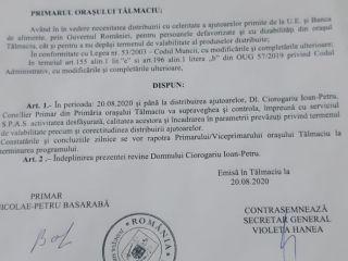 Scandal electoral la Tălmaciu! PSD Sibiu îl amenință cu instanța pe prefectul susținut de liberali