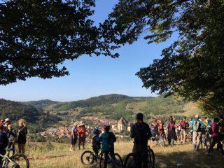 Via Transilvanica în județul Sibiu: A fost lansat la Biertan tronsonul sibian de 115 km