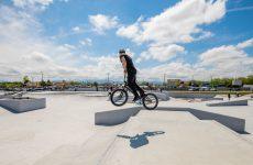 Skate park-ul din Sibiu se extinde cu o nouă instalație