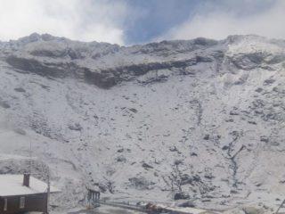 FOTO, VIDEO: Prima ninsoare în Munții Făgăraș