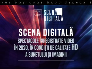 """Cinci titluri ale Teatrului Național """"Radu Stanca"""", difuzate online în noiembrie"""