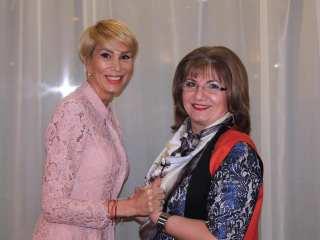 Monica Munteanu și Raluca Turcan, președintele PNL Sibiu / foto: Facebook