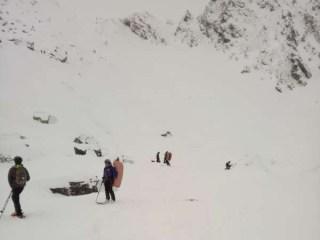 Avertisment de la meteorologi. Risc foarte mare de avalanşe în Munţii Făgăraş