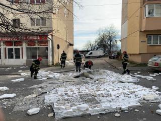 FOTO, VIDEO: Vremea rea a făcut ravagii în municipiul Sibiu