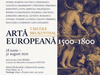 3 secole de gravură europeană / Expoziție în premieră națională la Muzeul Național Brukenthal în onoarea Baronului Brukenthal