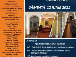 Noaptea Muzeelor Medieșene – 12 iunie 2021. Programul detaliat al fiecărei instituții și orarul de vizitare