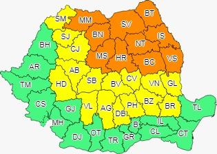 Avertizări de CANICULĂ până sâmbătă și vijelii până mâine, în Sibiu și alte județe din țară