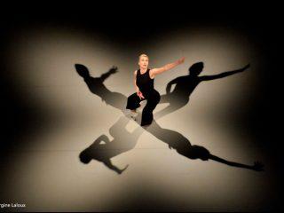 """La chorégraphe et danseuse belge MIchèle NOIRET Création de """" PALIMPSESTE - solo Stockhausen """" Soirée d'ouverture du Festival Atlantide. Nantes, Le Lieu Unique. Pays de la Loire - France Jeudi 15 mai 2014"""