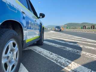 A fost prins șoferul care a fugit după un accident în Șura Mare