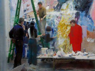 Tinerii artiștii clujeni expun la Sibiu