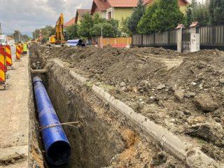 Apă Canal Sibiu sprijină înființarea unui nou parc în orașul Sibiu, prin relocarea unei conducte de transport apă potabilă