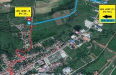 Se închide strada Sibiului din Cisnădie