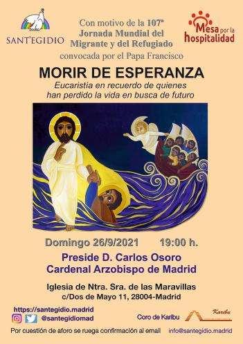 Eucaristía Morir de Esperanza 2021