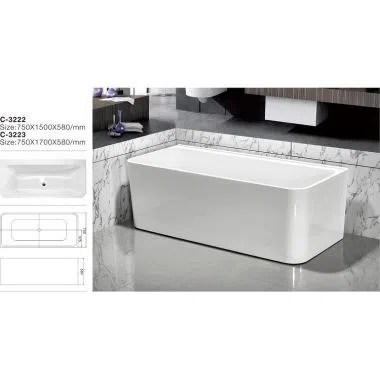 China Acrylic Freestanding Tub Manufacturers Suppliers Wholesale Zhejiang Mesa Sanitary CoLtd