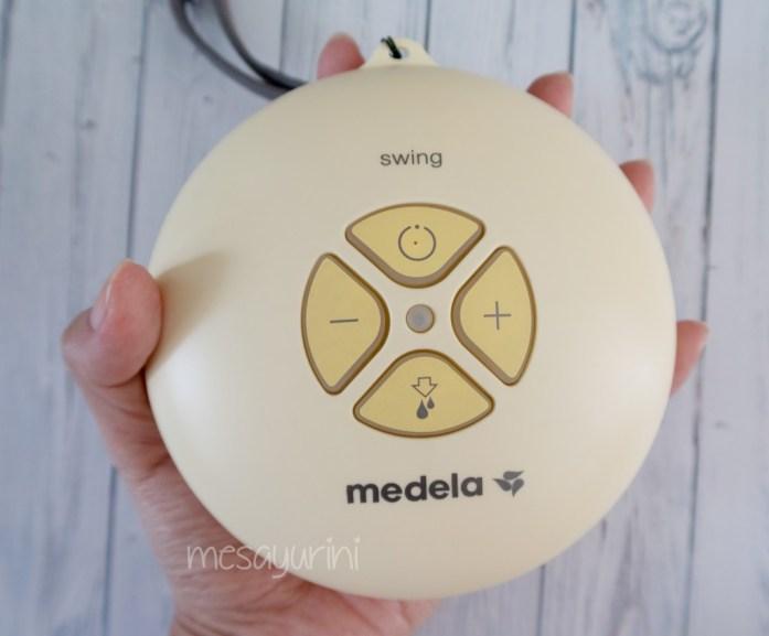 Mesin Medela Swing dalam genggaman tangan
