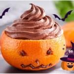 Clémentines d' Halloween