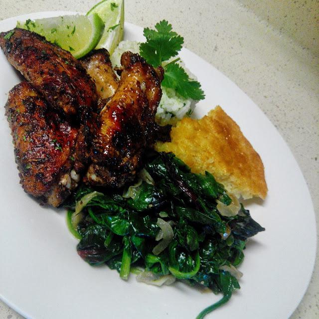 Jerk Spiced Chicken Wings