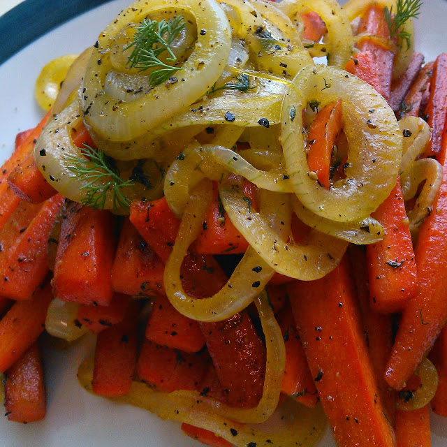 Sauteed Carrots and Onions