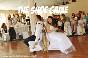 Wedding Reception: The Shoe Game
