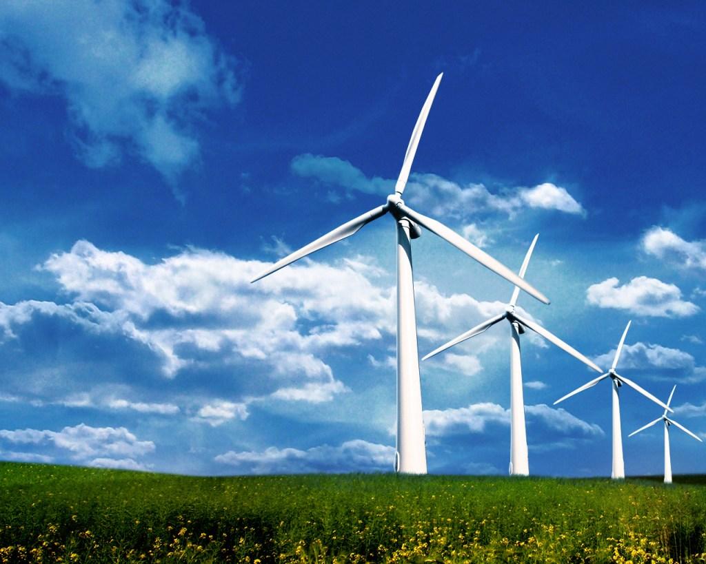 Wind green energy windmills
