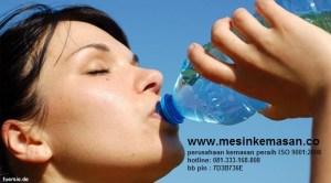 minum dari botol