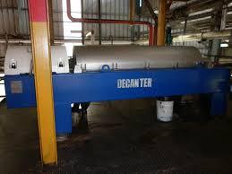 Mesin Decanter di Pabrik Kelapa Sawit