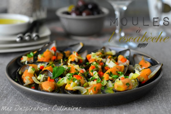 moules a l escabeche cuisine mediterraneenne