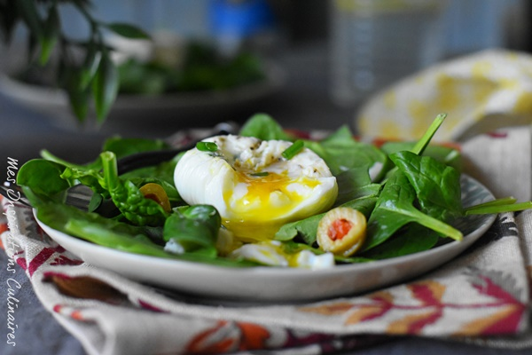 oeufs poches recette inratable