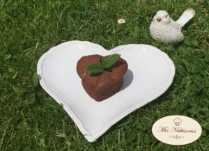Fondant menthe-chocolat