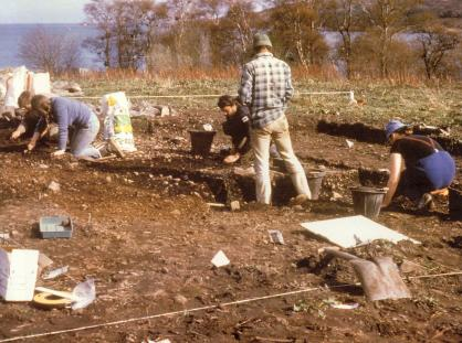 Excavations at Rum in the 1980s