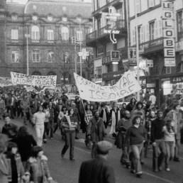 Manifestation des paysans du Larzac- Clermont-Ferrand